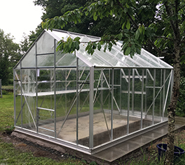 Aluminium New Greenhouses