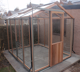 Wooden New Greenhouses
