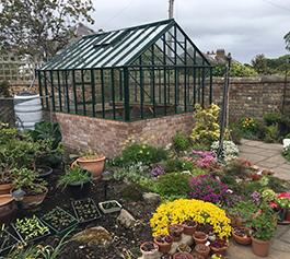 Dwarf Wall Greenhouses